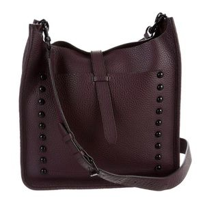 Rebecca Minkoff Large Unlined Leather Feed Bag NWT